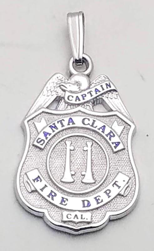 Santa Clara Fire Department Pendant