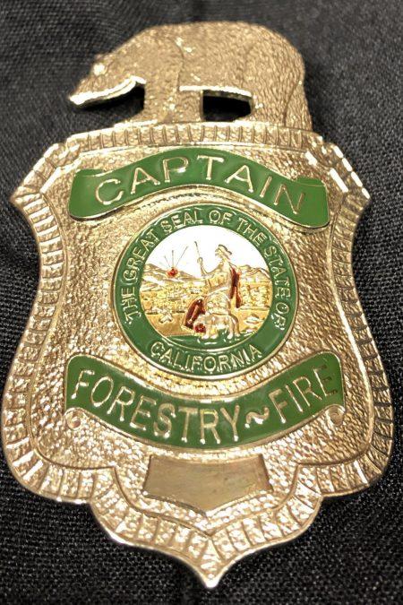 Cal Fire Badge Pendant