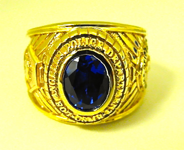 LAPD CSMR Ring Front View