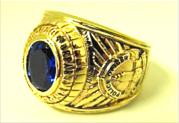 LAPD CSMR ring side view