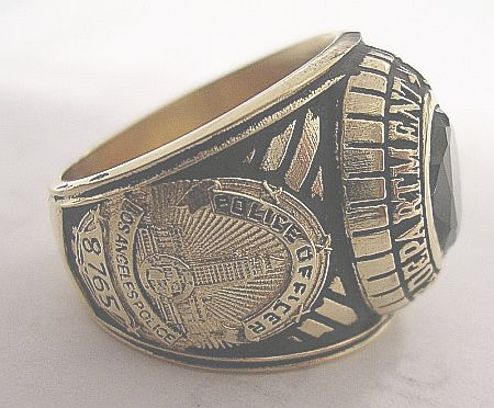 LAPD Med ring side view