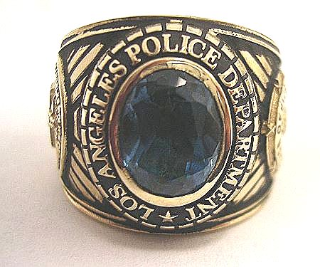LAPD Med/Lg Ring Front View