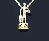 MS212 WALLY TROPHY PENDANT NHRA